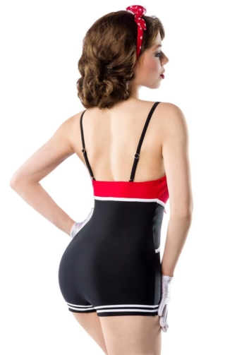 Vintage Swimsuit with bow