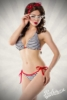 Navy Style Vintage-Bikini