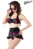 Vintage-Bikini with cherry pattern