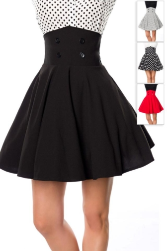 Short Swing Skirt