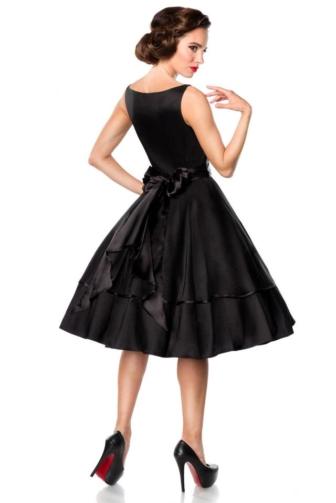 Belsira Premium Vintage Swing-Satin-Dress