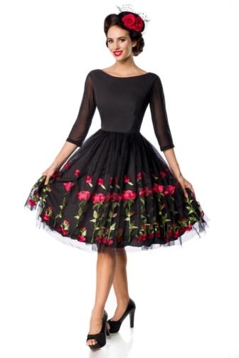 Premium Vintage Swing Dress