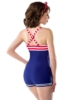 Vintage Swimsuit with buttons