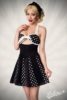 Godet Dress with Bow