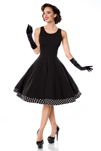 Swing Dress with Cape