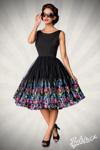 Belsira Premium Vintage Flower Dress