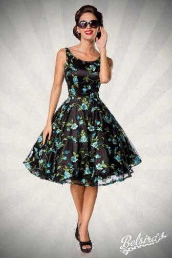 Belsira Premium Vintage Flower Dress