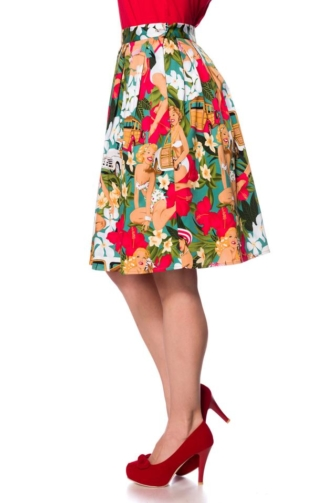 wide Vintage Skirt