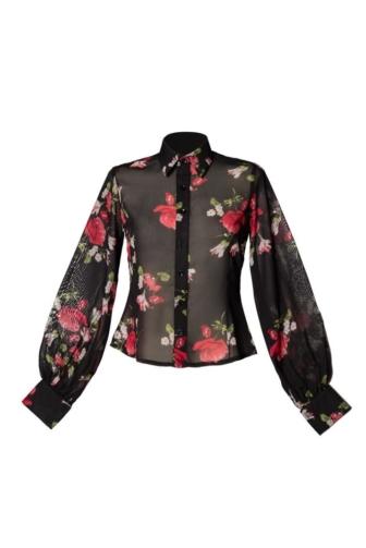 Vintage-Bluse